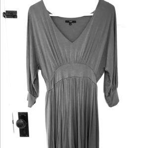 TART Gray Blouson Dress